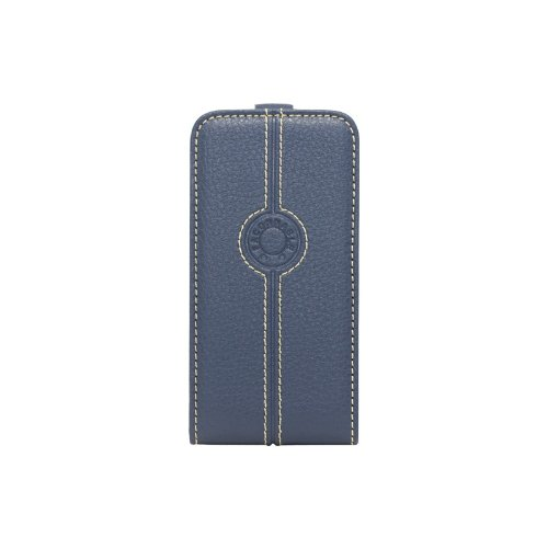 faconnable-facoselip4bleuv2-flip-case-grained-leather-for-iphone-4-4s-blue
