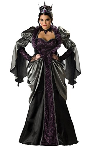 [NonEcho Halloween Costumes for Women Evil Queen Party Costume] (Tinkerbell Costumes Plus Size)