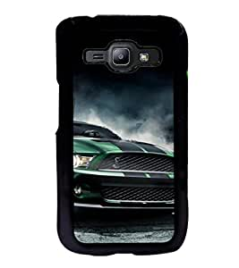 ifasho Royal Running Car in wind Back Case Cover for Samsung J1