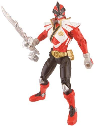 Power Ranger 4inch Figure Super Mega Ranger Fire - 1