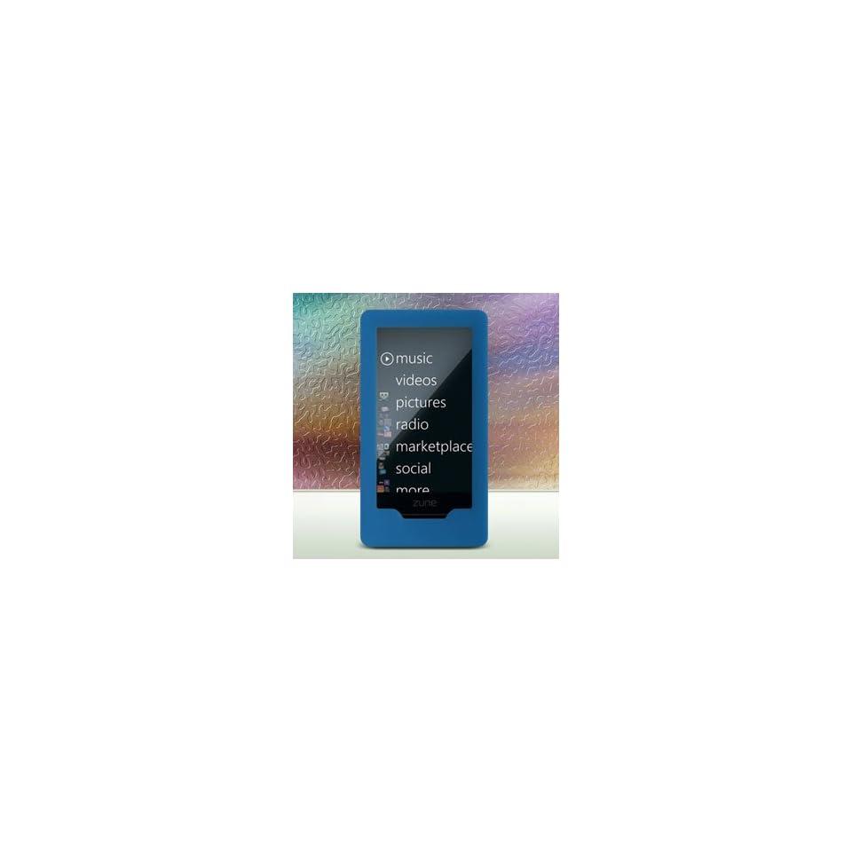Silicone Skin Case for Microsoft Zune HD (Blue)