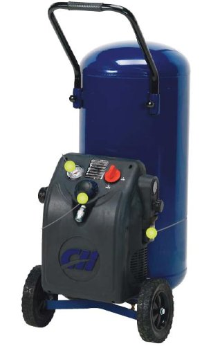 Factory-Reconditioned Campbell Hausfeld HM700000RB 8-Gallon Vertical Air Compressor
