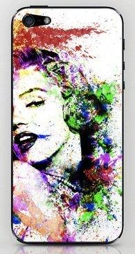 並行輸入品マリリン・モンロー society6 iphone 6/6PLUS ステッカー (iphone 6, Marilyn01)
