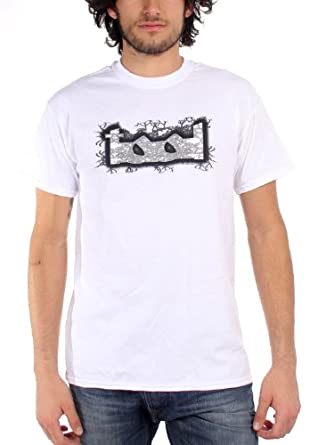 Tool Grey Tool Man T-shirt in White, Small, White