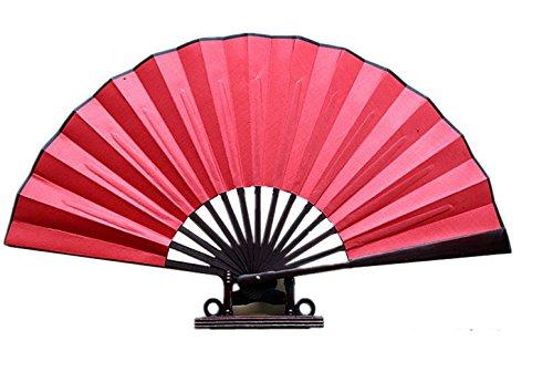 "Big Save! ""Classic 38""""red Performance Folding Fan"