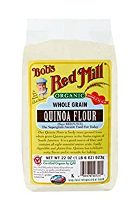 Bob's Red Mill Organic Quinoa Flour, 22-Ounce Packages (Pack of 4)