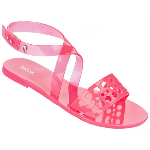 Melissa Shoes Tasty Sandal, Pink Neon A 39 Pink
