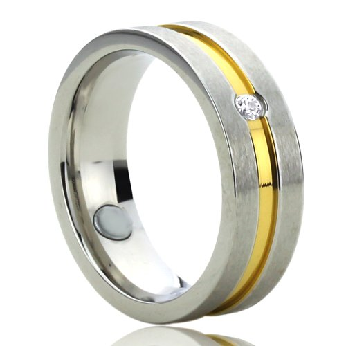 Two Tone Wedding Bands