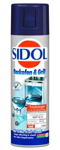 Sidol Backofen & Grill Reiniger, 500ml, 6er Pack (6 x 500 ml)
