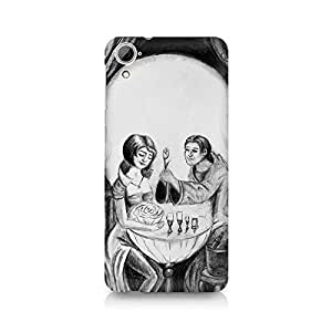 Mobicture Skull Abstract Premium Printed Case For HTC Desire 820
