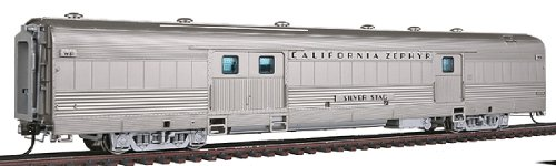 Broadway Limited HO Scale California Zephyr Baggage Car WP #802 Silver Stage BLI-1492