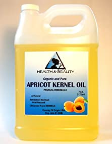 buy Apricot Kernel Oil Carrier Cold Pressed Organic 128 Oz, 7 Lb, 1 Gal