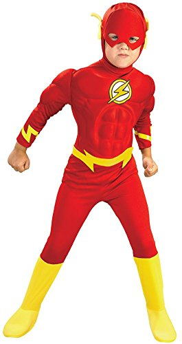 The Flash Deluxe Kids Costume