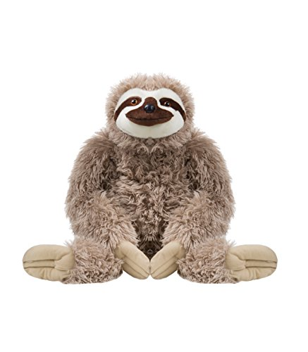 Wild Republic Cuddlekins Jumbo Sloth Plush