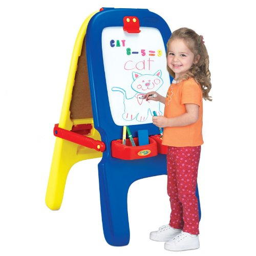 Crayola Magnetic Double Sided Easel Office Supplies