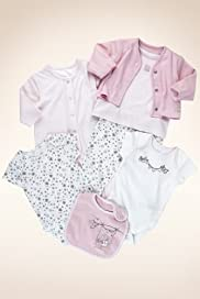 7 Piece Petit Bebe Pure Cotton Assorted Starter Set [T78-8232P-Z]