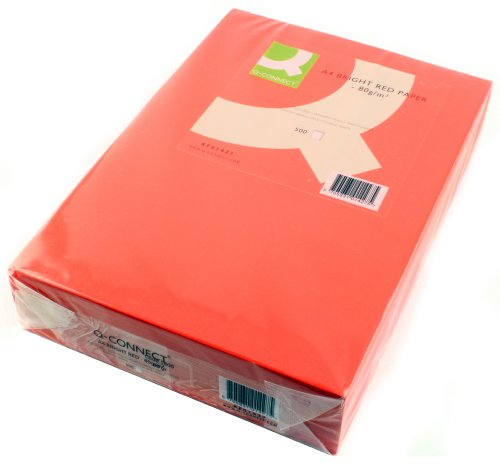 q-connect-a4-80gsm-bright-red-ream-coloured-copier-paper