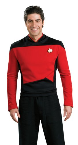 Star Trek the Next Generation Deluxe Red Shirt Costume