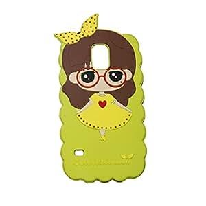 Cute Little Bush Soft Silicone Back Case Cover For Samsung Galaxy S5 I 9600