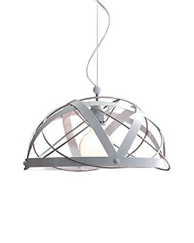 Gibas Lámpara De Suspensión Aster Metal/Blanco