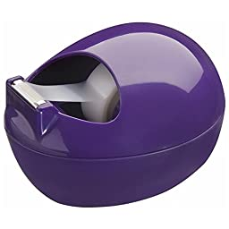 Scotch Tape Dispenser by Karim, Purple (C-36-P)