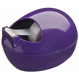 Scotch Tape Dispenser by Karim, Purple (C-36-P)