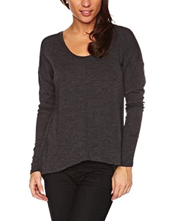 Emu Australia Toora Long Sleeve Women's T-Shirt Charcoal Marle Small