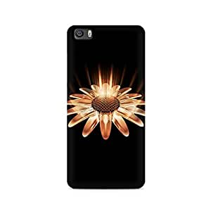 Mobicture Glowing Flower Premium Printed Case For Xiaomi Redmi 5