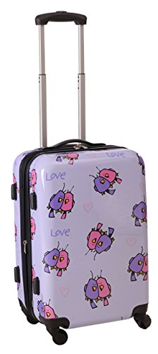 ed-heck-multi-love-birds-hardside-spinner-luggage-21-inch-light-purple-one-size