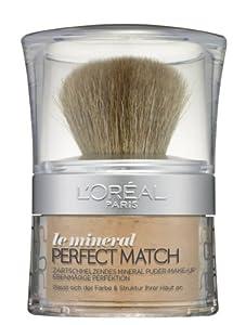 L'Oréal Paris Perfect Match Mineral Puder, W6 Honey