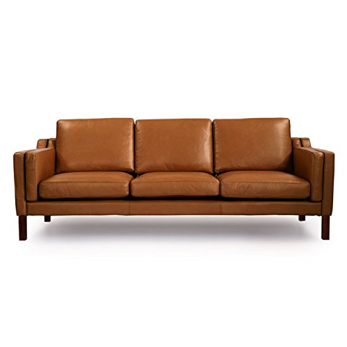 Magnificent Kardiel Monroe Mid Century Modern Sofa 3 Seat Canyon Aniline Pdpeps Interior Chair Design Pdpepsorg