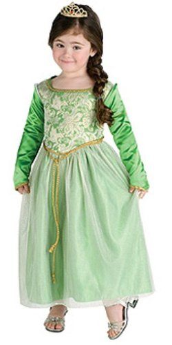 Shrek Princess Fiona Costume Toddler (USA size 2 - 4) For 1-2 year old
