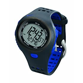 Nike Triax C8 Heart Rate Monitor Watch (Blue / Black)
