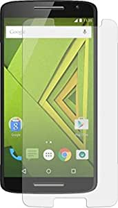 Mobikare(TM) Crystal Clear, 9H Hardness Tempered Glass Screen Protector For Motorola Moto X Style