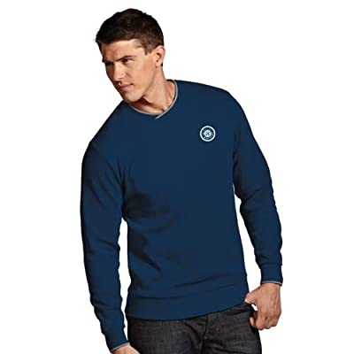 MLB Seattle Mariners Men's Executive Crew Sweater