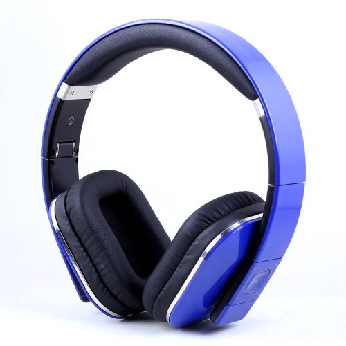 Micro casque August EP650 - Bluetooth 4.0 - Bleu