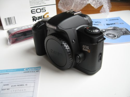 New Canon EOS Rebel G SLR 35mm Film Camera (Body Only)