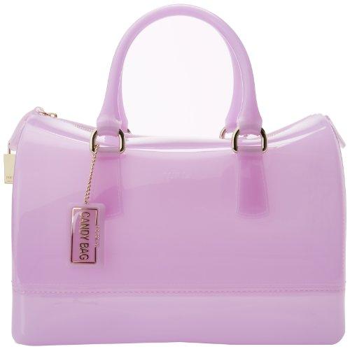FURLA Candy M Top Handle Bag,Mauve,One Size (Jelly Handbags Furla compare prices)