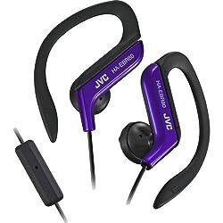 JVC HA-EBR80-A Sports Clip In-the-ear Headset(Blue)