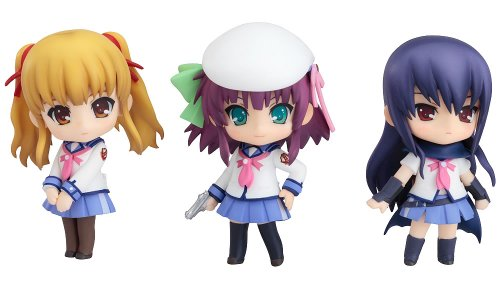 Angel Beats! : Yuri, Shiina and Yusa Nendoroid PVC Figure