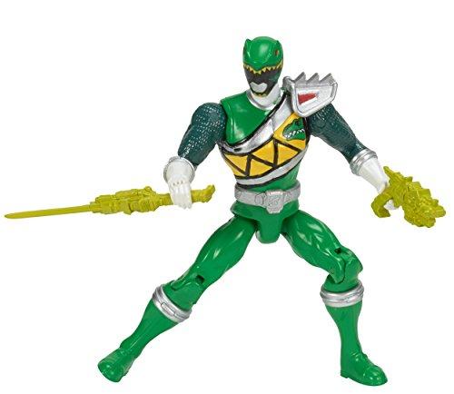 "Power Rangers Dino Charge - 5"" Green Ranger Action Hero - 1"