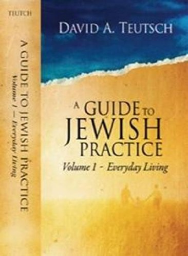 A Guide to Jewish Practice, Vol. 1: Everyday Living