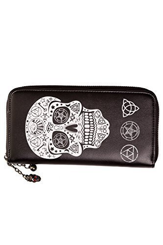 Banned Pentagram Skull Wallet