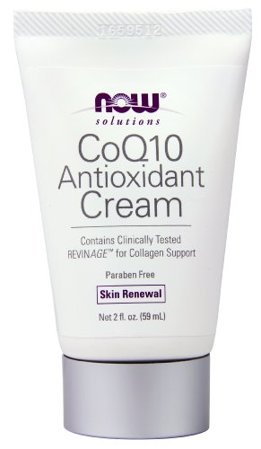 NOW Solutions CoQ10 Antioxidant Cream, Skin Renewal, 2-Fluid Ounces