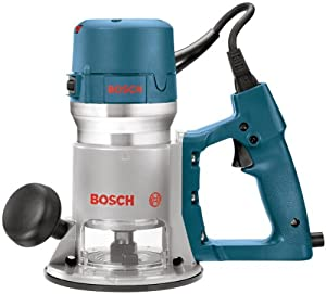 Bosch 1618EVS 2-1/4-Horsepower D-Handle Variable-Speed Router