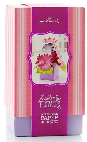 Hallmark suddenly flowers a surprise paper bouquet home Hallmark flowers