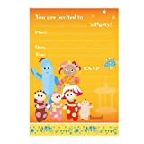 In The Night Garden Birthday Party Invites x 20