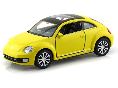 Volkswagen new Beetle 1/32 Yellow