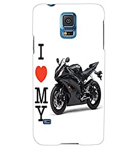 ColourCraft Bike Back Case Cover for SAMSUNG GALAXY S5 NEO