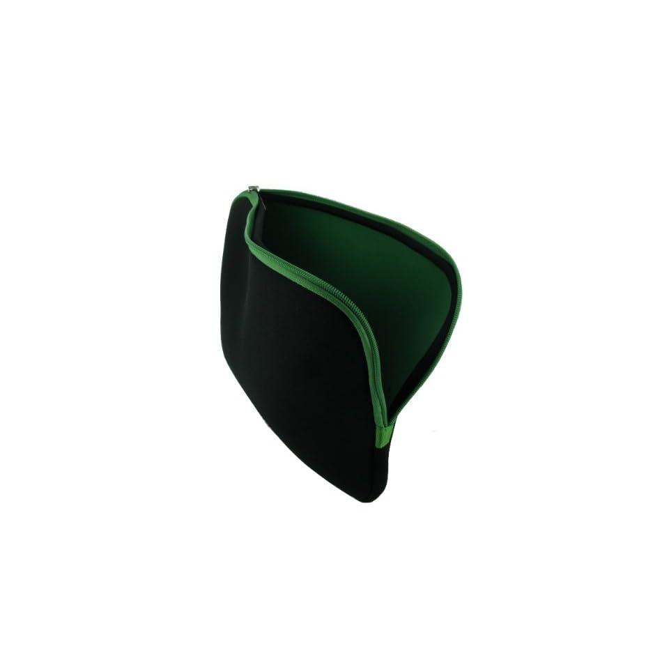 Reverso (Black / Green) Neoprene Sleeve Case for Dell Inspiron Mini iM1012 738IBU 10.1 Inch Netbook Ice Blue Computers & Accessories